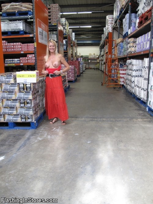 Hardware Store Boob Flash