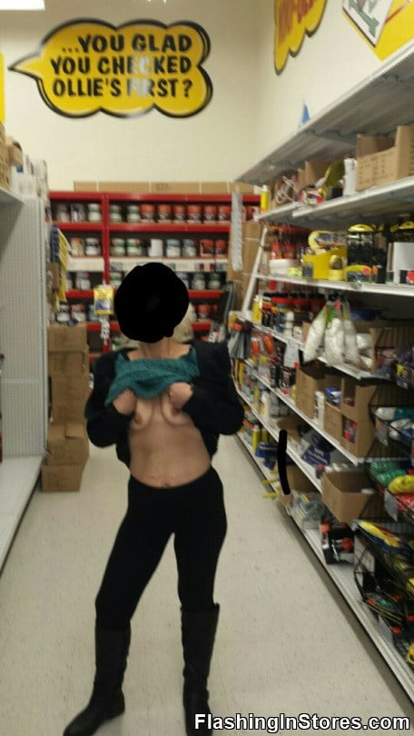 govah flashing in store