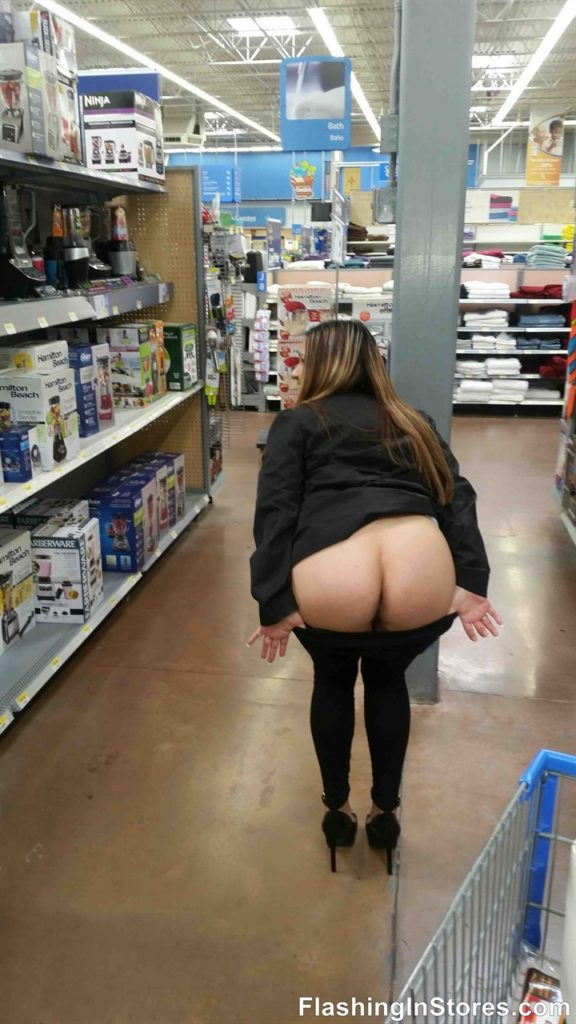 wife at adult store