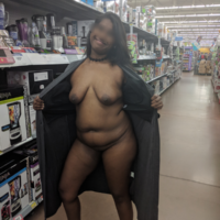Piper Chai naked in Walmart